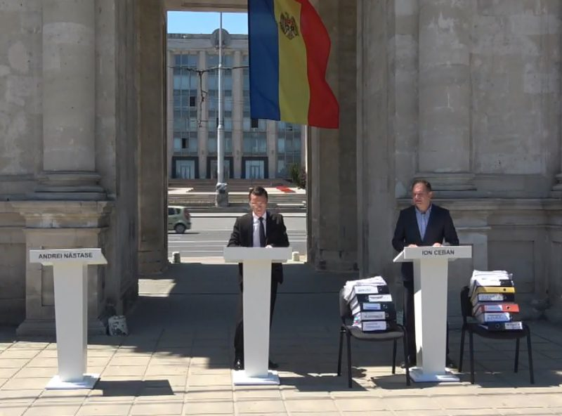 Чебан: Создам коалицию только с жителями Кишинева, а не с коррумпированными партиями (ВИДЕО)