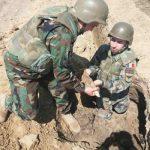 11 снарядов времен Второй мировой войны обнаружено в селе Новоаненского района