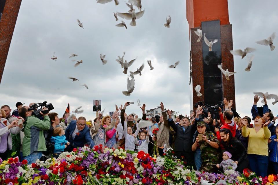 Гречаный на марше 9 мая: Это победа, которая должна научить нас всегда побеждать (ВИДЕО)