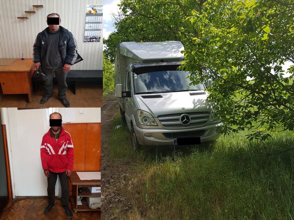 Столичная полиция задержала двух угонщиков машин