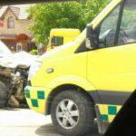 Серьезное ДТП в Магдачештах: фургон столкнулся с грузовиком (ФОТО, ВИДЕО)