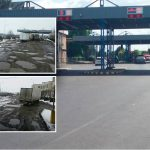 Как выглядит таможня Албица после ремонта дороги (ФОТО)