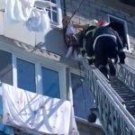 В Бельцах пожарные в последний момент спасли девочку, повисшую на высоте 5 этажа (ВИДЕО)