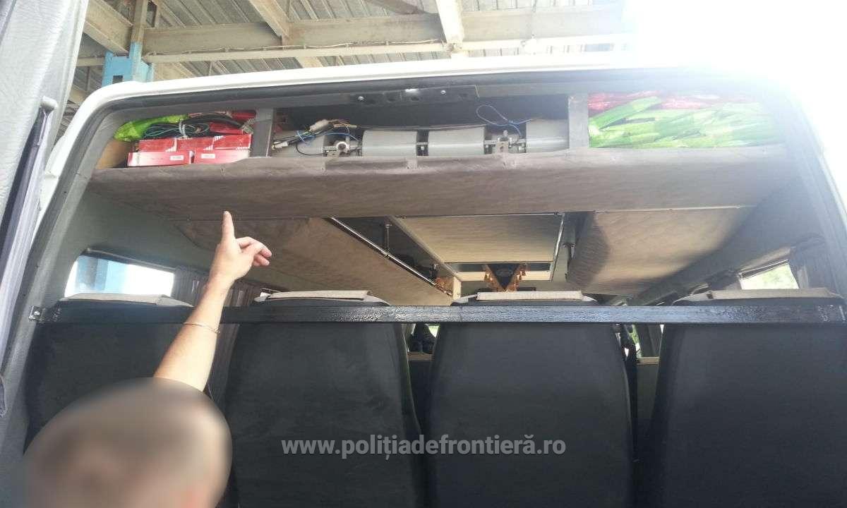 Пограничники учуяли запах ароматабака, спрятанного в автомобильном кондиционере