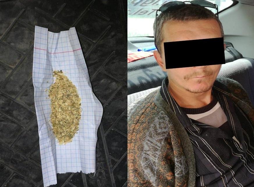 Наркоман в неадекватном состоянии был задержан на Рышкановке