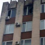 Утренний пожар в здании суда Буюкан: один из кабинетов сгорел (ФОТО)