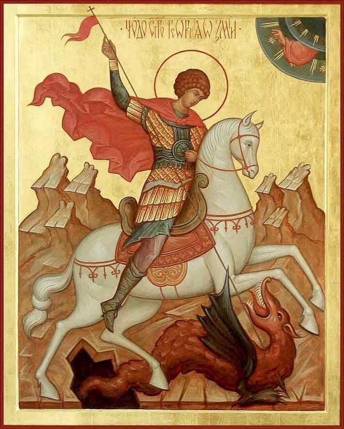 Президент поздравил жителей страны с Днем святого великомученика Георгия Победоносца