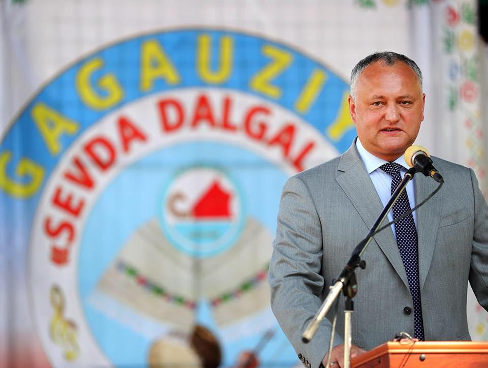 Президент совершает визит на юг Молдовы (ФОТО)