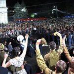 Около 40 тысяч человек стали зрителями грандиозного концерта ко Дню Победы под эгидой президента (ФОТО)