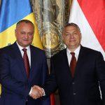 Додон поздравил Орбана с переизбранием на должность премьер-министра Венгрии