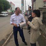 Плодотворное начало дня: Чебан пожелал доброго утра жителям Дурлешт и навестил еще одно медучреждение (ФОТО)