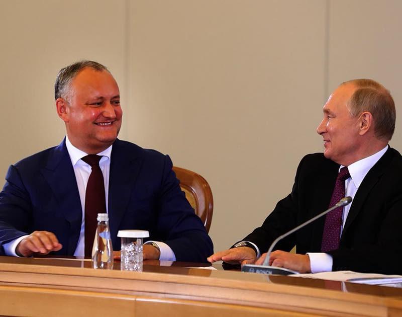 Додон рассказал, когда пройдет его следующая встреча с Путиным (ВИДЕО)
