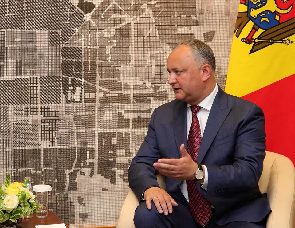 Додон: Молдова будет максимально эффективно использовать статус наблюдателя при ЕАЭС (ВИДЕО)