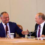 По приглашению Путина Додон посетит открытие и закрытие Чемпионата мира по футболу