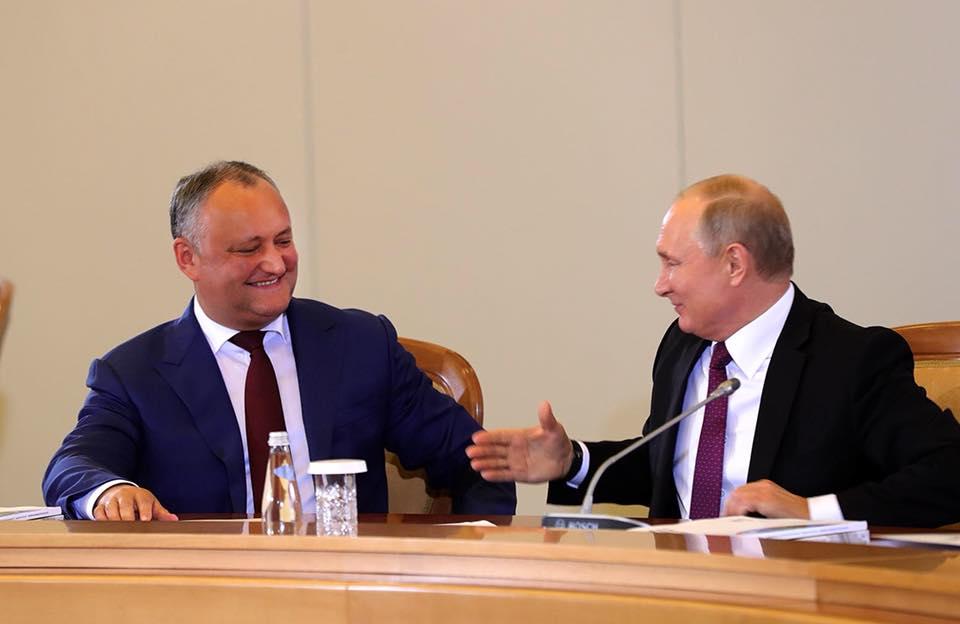 От Путина – молдавскому народу: Благодаря договоренности Додона, города и села страны получат до 100 единиц техники (ВИДЕО)