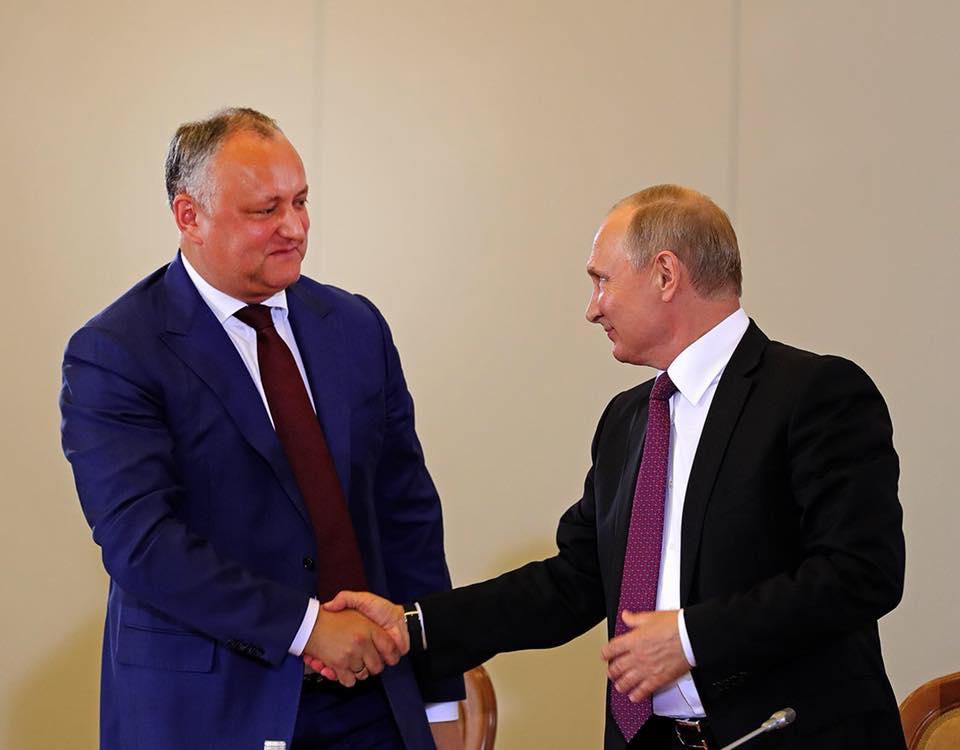 Додон раскрыл детали предстоящего официального визита в Россию (ВИДЕО)