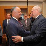 Лукашенко поздравил Додона и весь молдавский народ с Новым годом (ФОТО)