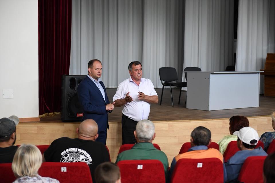 Чебан встретился с жителями Вадул-луй-Водэ