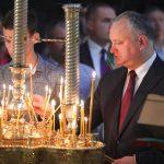 Президент поздравил верующих с праздником Святого Николая