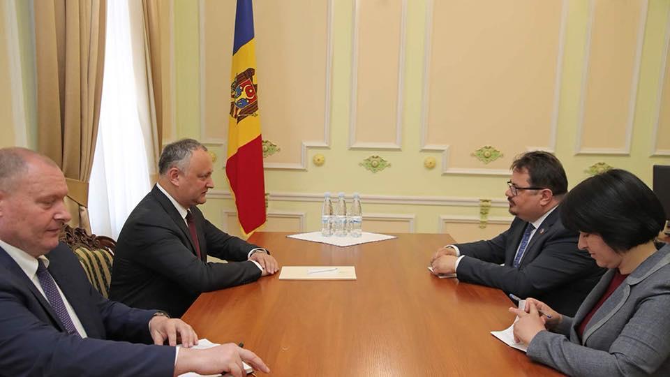 Додон: Молдова может стать связующим мостом между ЕС и ЕАЭС