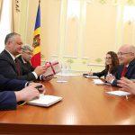 Президент обсудил важные вопросы с официальным представителем Турции в Молдове