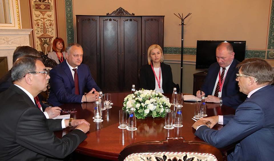 Додон: Я и представители ПСРМ участвовали и будем участвовать во всех мероприятиях в рамках СНГ