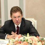 Игорь Додон получил поздравление с Новым годом от председателя правления компании «Газпром» Алексея Миллера