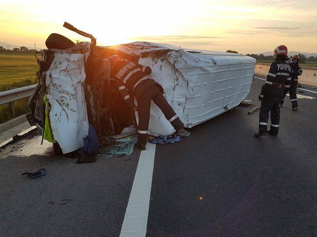 Молдаванин погиб в страшной автокатастрофе в Румынии (ФОТО, ВИДЕО)