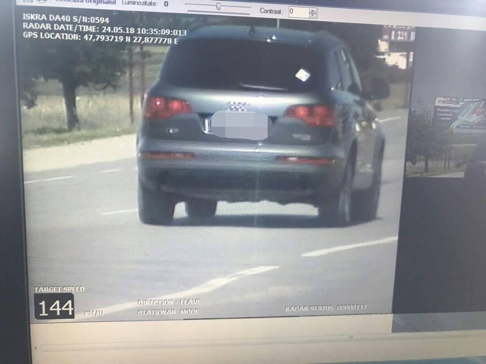 367 водителей были пойманы за превышением скорости на дорогах страны всего за 2 дня