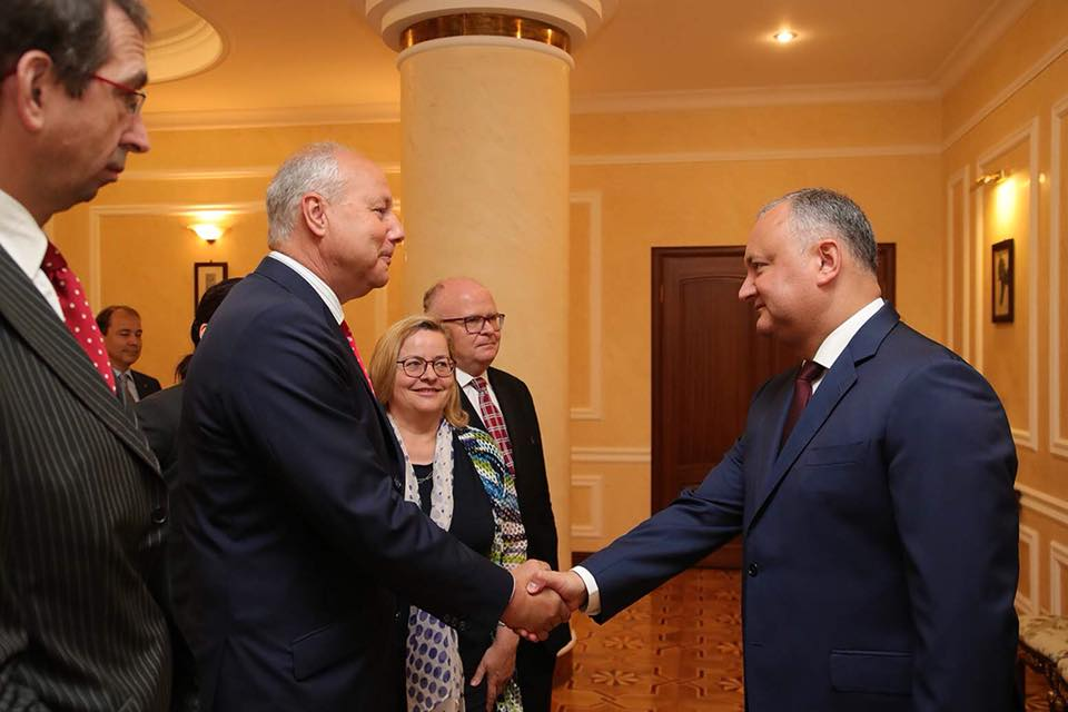 Президент провел встречу с делегацией высокопоставленных представителей Австрии