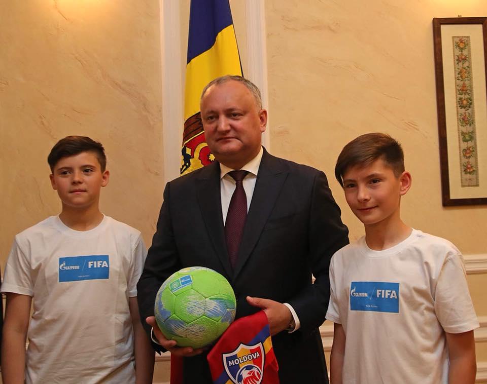 """Юные молдавские футболисты впервые представят страну в проекте """"Футбол ради дружбы"""""""
