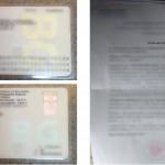 Пограничная полиция нашла в документах автоледи грамматические ошибки (ФОТО)