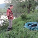 За выходные молдавские экологи вытащили более 500 метров рыболовных сетей (ФОТО)