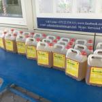 Украинец пытался ввезти в Молдову более 90 литров химикатов, спрятав их в место для запаски (ФОТО)