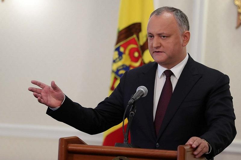 Додон: Молдова станет платформой для продвижения семейных ценностей между Востоком и Западом