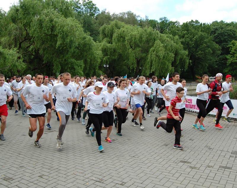 В Кишинёве пройдёт благотворительный забег в поддержку больных раком детей