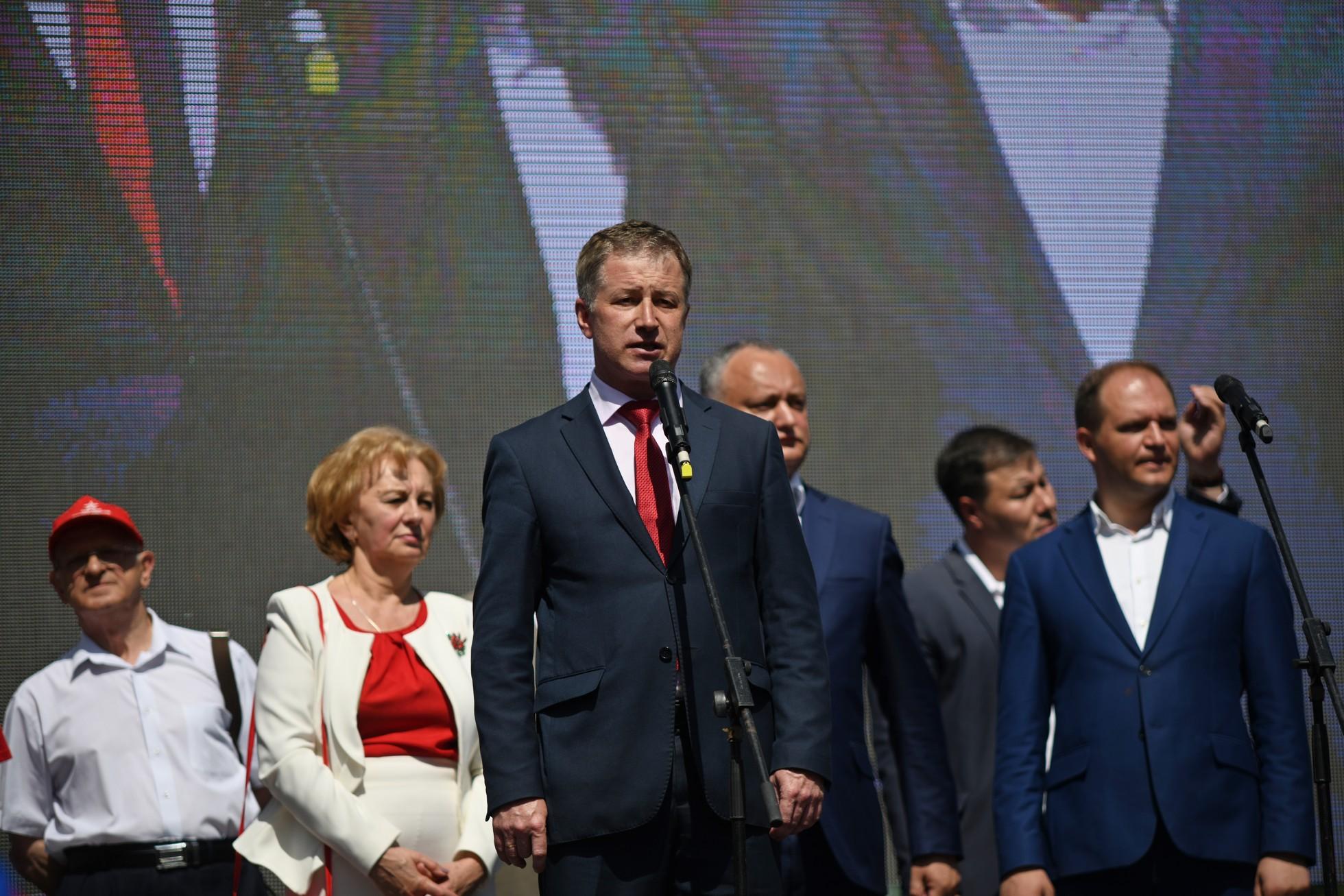 Александр Усатый: Бельчане уверены в Додоне и готовы поддерживать все его инициативы (ВИДЕО)