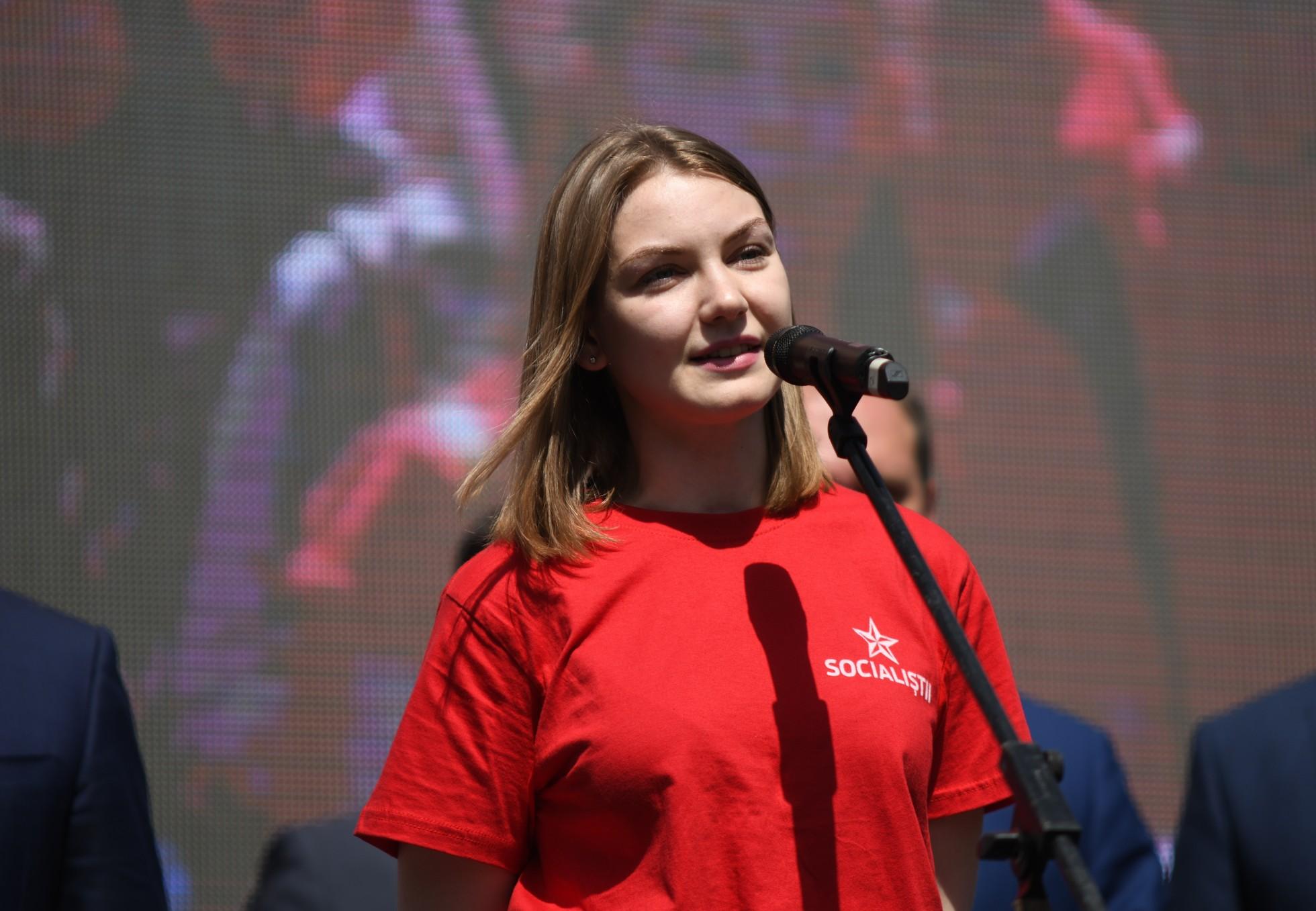 Липская: Молодежь хочет жить в перспективной стране (ВИДЕО)