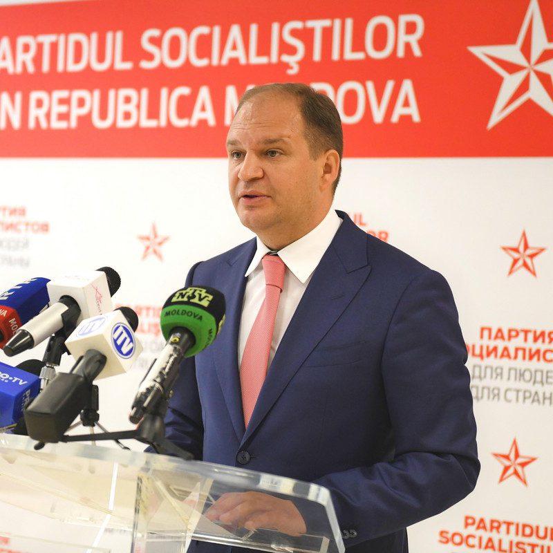 Став генпримаром, Чебан не позволит проведение унионистских маршей в Кишиневе