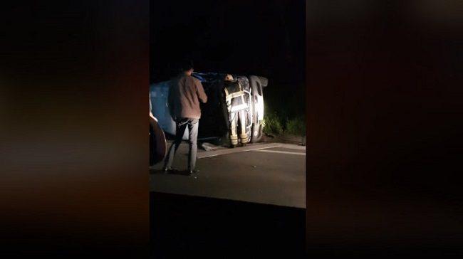 ДТП в Криково: спасателям пришлось вытаскивать водителя из груды металла