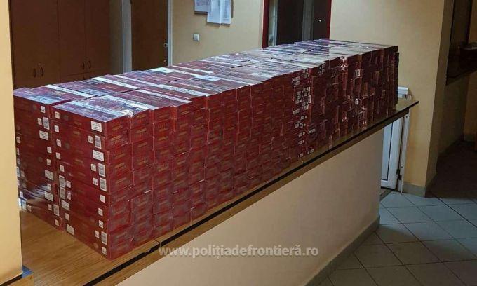 Водитель рейсового автобуса Кишинёв – Брашов пытался незаконно ввезти в Румынию более 100 тысяч сигарет