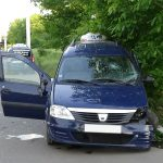 ДТП с участием такси в Бендерах: пострадали водитель и пассажирка