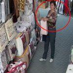 В столице разыскивают женщину за кражу на рынке (ВИДЕО)
