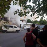 На одной из столичных улиц сгорел автомобиль (ФОТО, ВИДЕО)