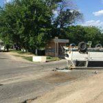 Серьезная авария с участием маршрутки за Кишиневом: пострадали двое