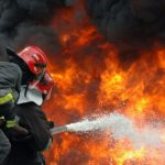 В Джурджулештском порту был потушен условный пожар (ВИДЕО)