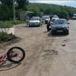 В Каушанах автоледи сбила 11-летнего велосипедиста