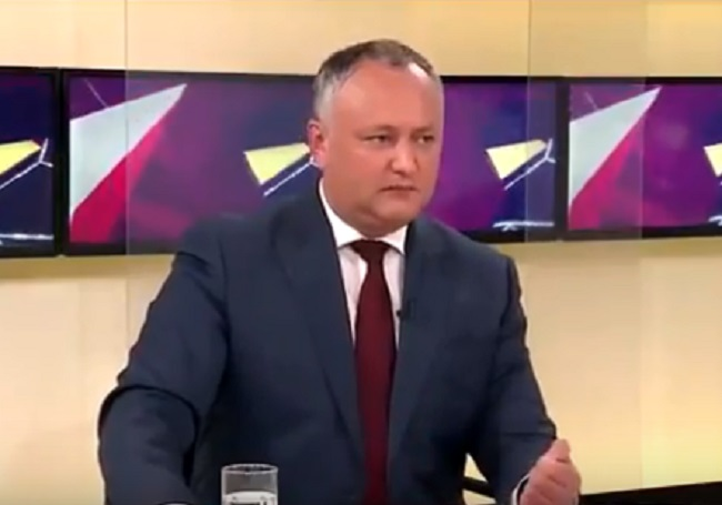 Додон: Молдаване болеют за россиян, как за своих, потому что они и есть свои (ВИДЕО)