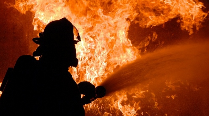Пожар в Страшенах: мужчина в больнице в тяжёлом состоянии