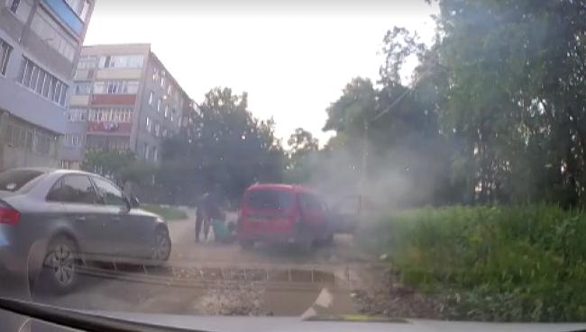Пьяные проделки бельчанина: угнал автомобиль из автомойки, чтобы быстрее вернуться домой (ВИДЕО)